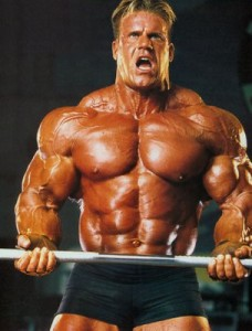 Jay Cutler does steroids.